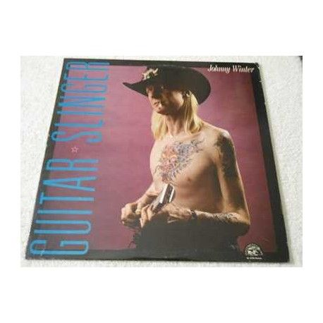 Johnny Winter - Guitar Slinger Vinyl LP Record For Sale #JohnnyWinter #johnwinter #Blues #BluesRock #BluesRecords #BluesLPs #BluesAlbums