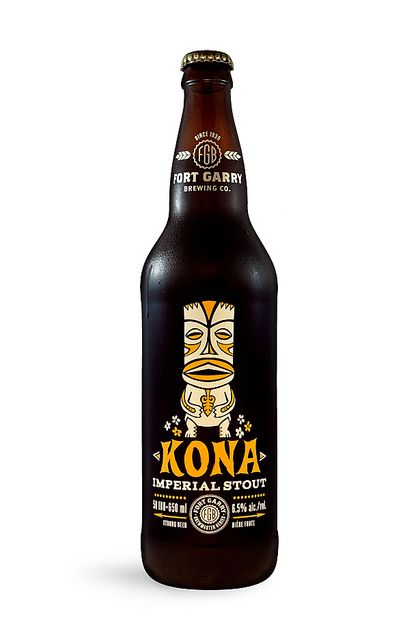 Kona Imperial Stout, A Craft Beer Brewed With Kona Coffee Beans