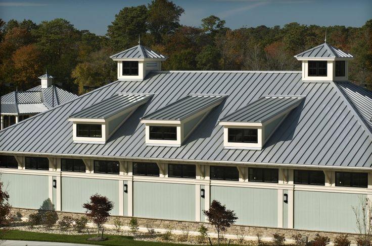 Harsh environment metal roof usage
