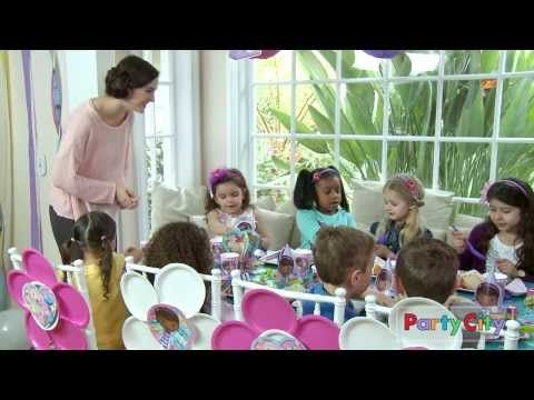 Calling Doc McStuffins To The Party Room! - YouTube