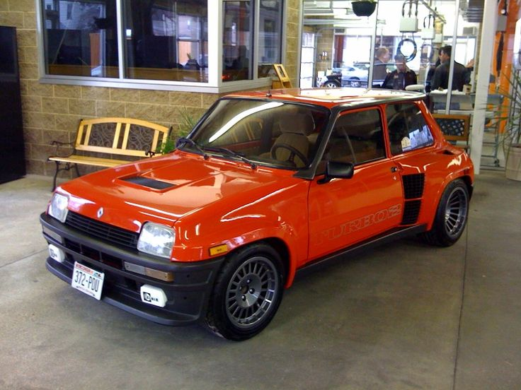 Renault 5 turbo. (Mid engine). This would be an outrageous car to own.