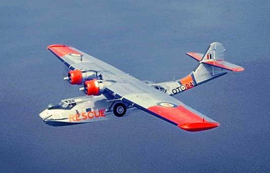RCAF Canso - Uncle Carl had one of these in the original fleet for Maritime Central Airways