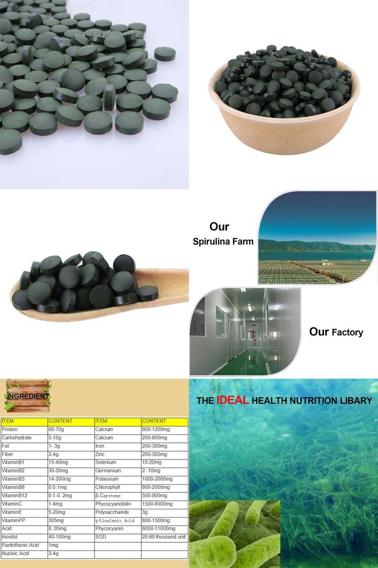 [Visit to Buy] BOLIKIM 200pcs Accredited Quality Anti-Fatigue Anti-Radiation Enhance-immune natural Organic Spirulina Tea Tablet Rich Vitamin #Advertisement