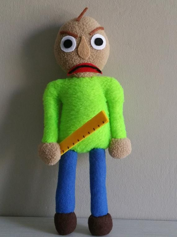Handmade Baldi Plush Pocket Version Unofficial Baldi S Basics
