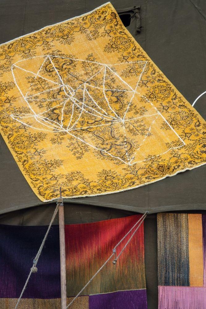 Atelier Pfister Collection 2013, Surava carpet by Claudia Caviezel