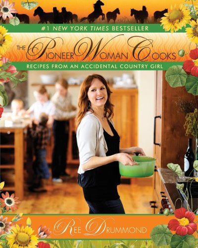 Pioneer Woman Cookbook- best cookbook ever, try the Penne Betsey !
