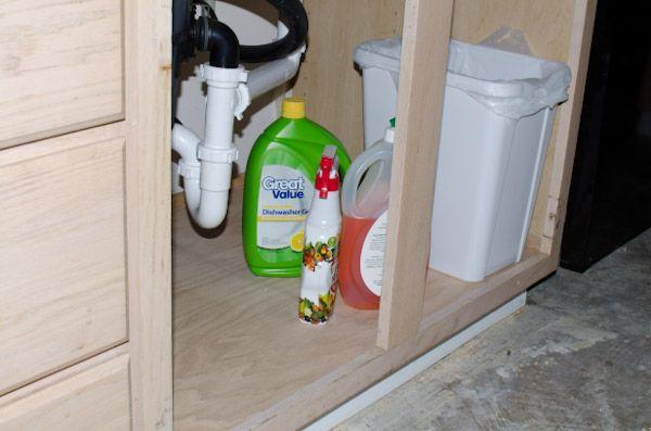 replacing sink cabinet bottom 1
