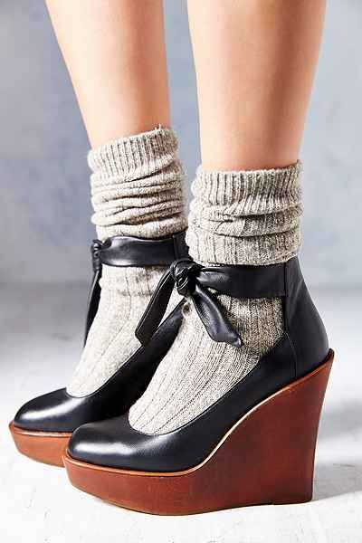Kimchi Blue Sophie Ankle-Tie Wedge - Urban Outfitters