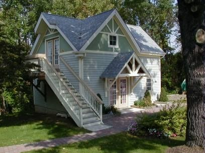Charming carriage house at Alpine Haus Bed and Breakfast Inn in Vernon, New Jersey