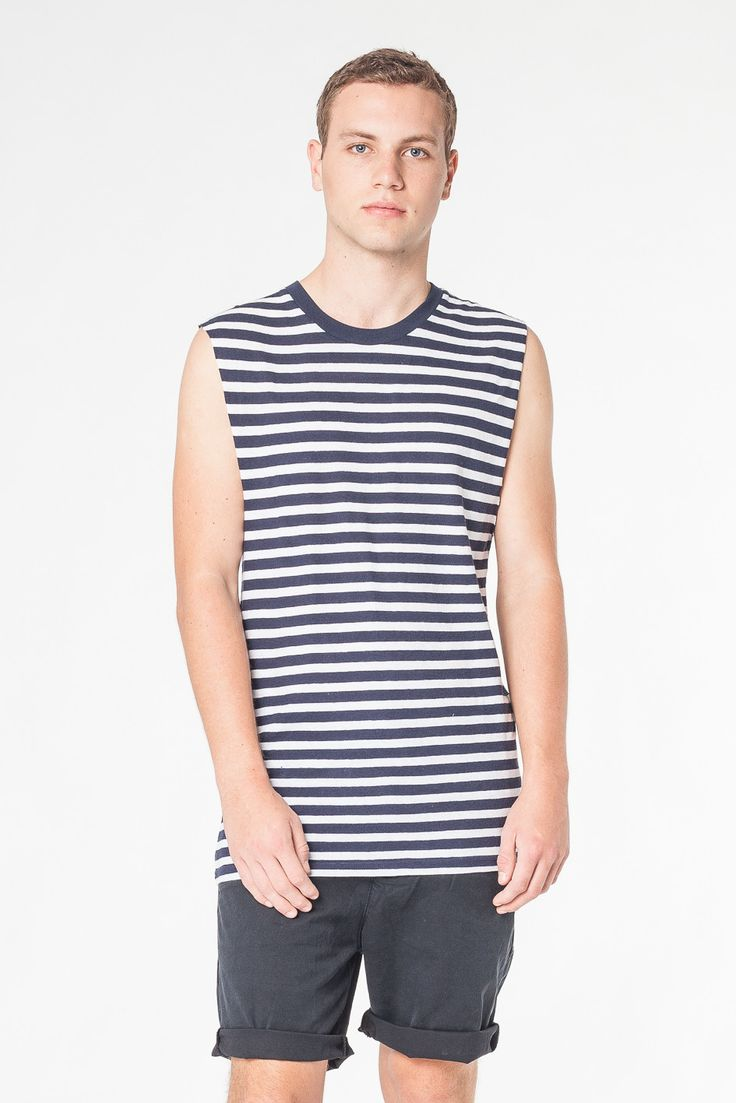 TOUR STRIPE TANK - TEES AND TANKS - SHOP MENS Assembly Label