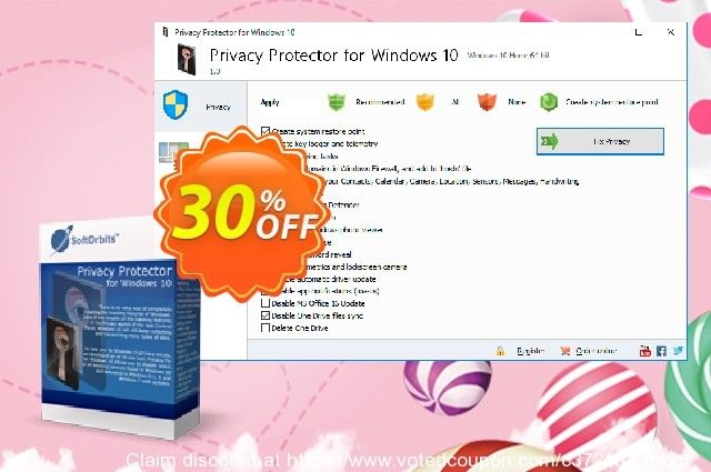 Privacy Protector For Windows 10 Coupon On Women Month Discount