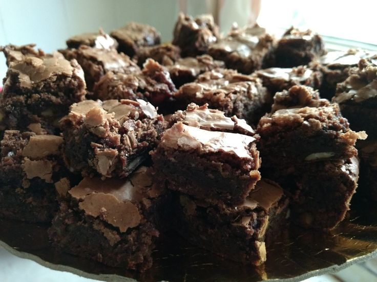 Brownies con frutos secos