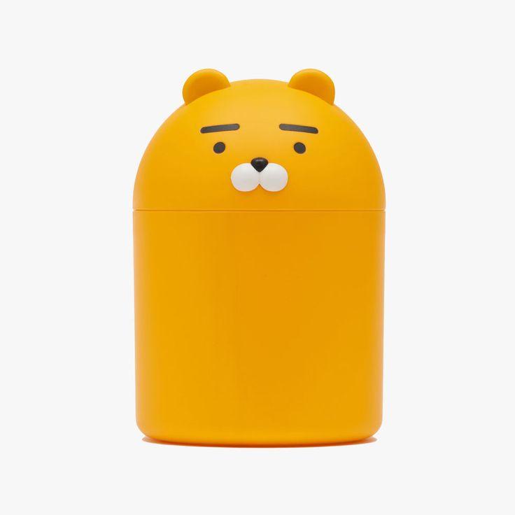 KAKAO FRIENDS RYAN HIPS Plastic Wastebasket, Lion Character Trash Can #KAKAOFRIENDS #RYAN #HIPS #Plastic #Wastebaske #Lion #Character #TrashCan