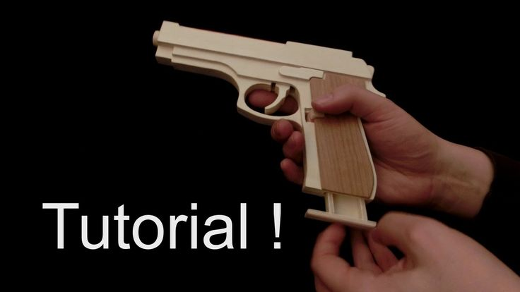 M9 Semi Auto Rubber Band Gun Download Construction Manual