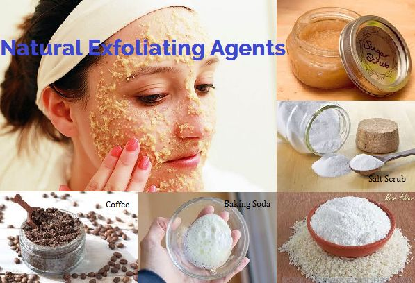 Natural Exfoliating Agents for Face