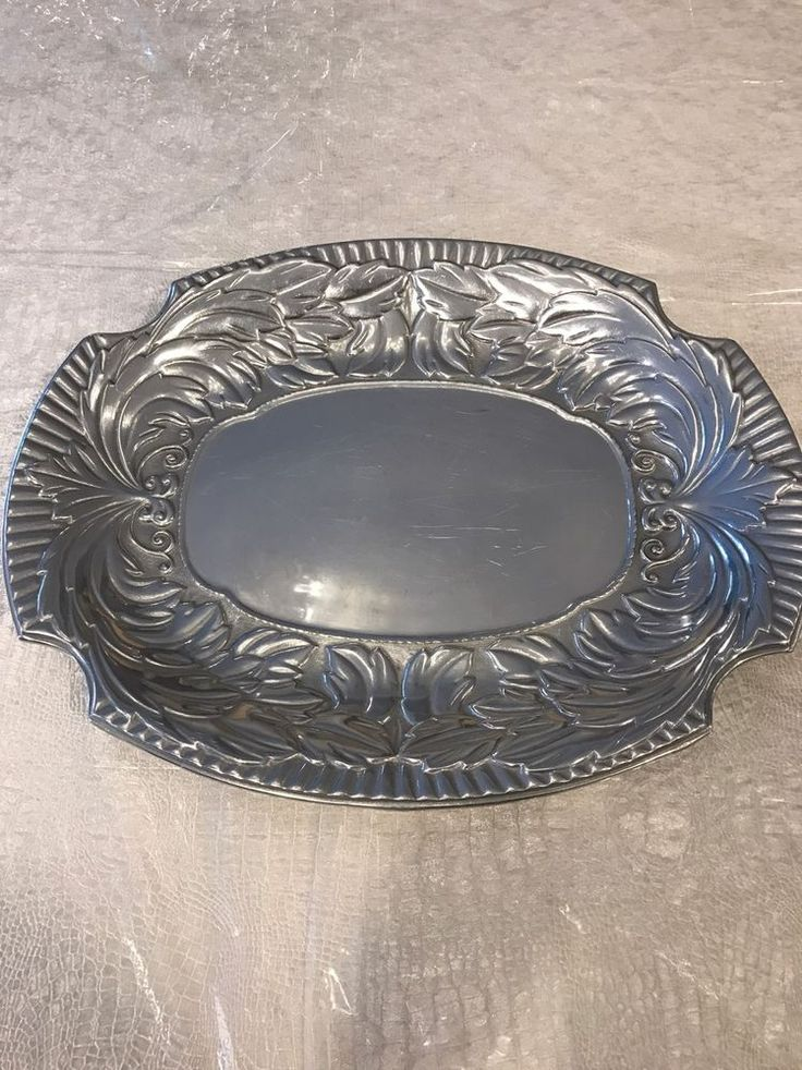 8 best platters plates images on pewter tin metal and
