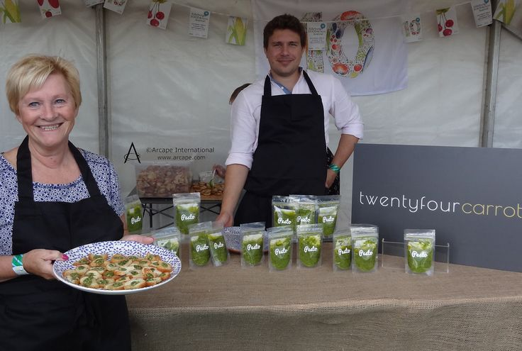 Fantastic Twenty four carrot pesto was launched at the show.  Yummy!