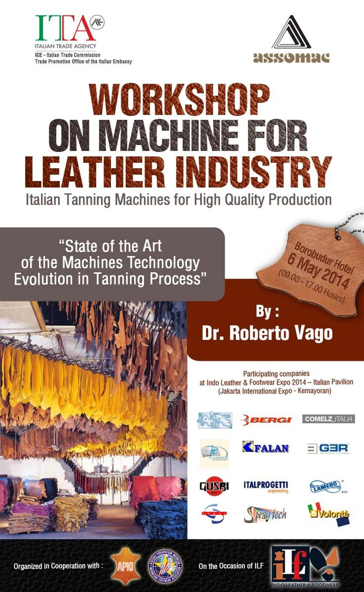 Workshop for Indonesian Leather Industry