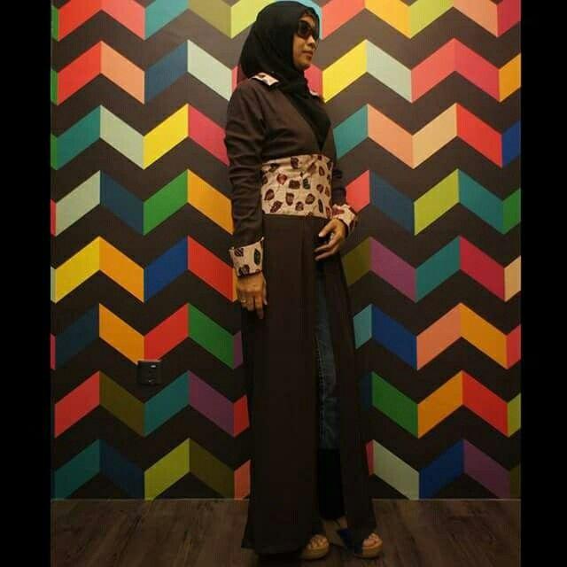 #longcardi #muslimah #Fashionstyle #batikdesigner#batikdesigner #nelyafificom