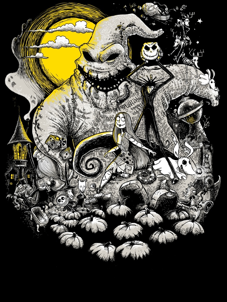 260 best Nightmare Before Christmas - Art images on Pinterest ...
