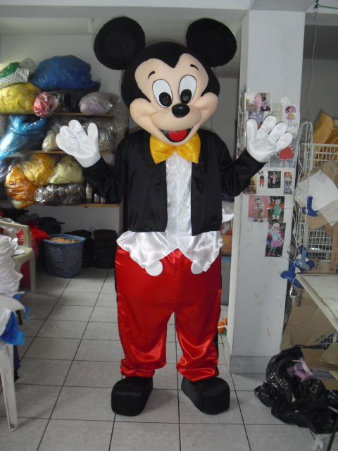 NEW Mickey Mouse Character Mascot Costume MINNIE GOOFY CLUB HOUSE 2 #CompleteCostume