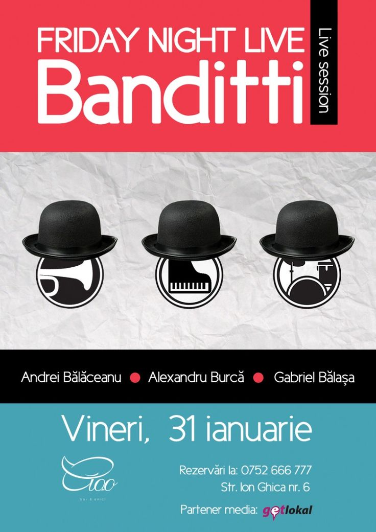 Banditti este un band de baieti care reuseste sa gaseasca mereu punctele sensibile ale publicului, acordandu-le prin muzica.