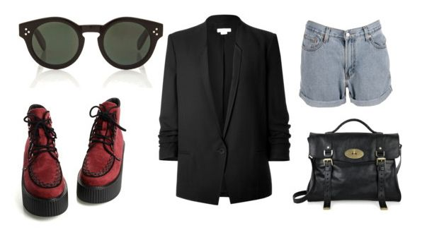 Today's style inspiration features The #GRUNYA, by #MOSCOT fan Giuliabonati via @Polyvore.