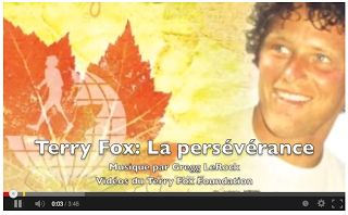 Terry Fox: La persévérance - Primary French Immersion Resources