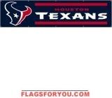 Texans Banner 8' x 2'