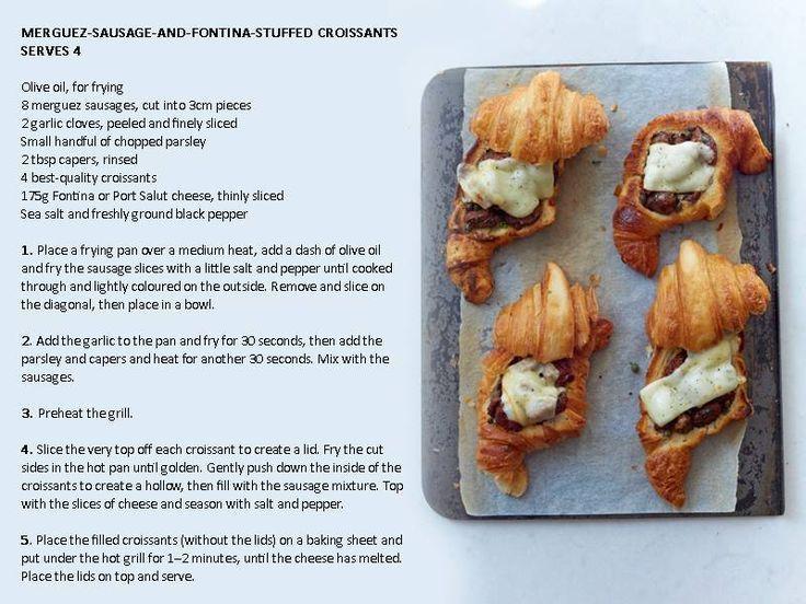 Gordon Ramsay stuffed croissants: