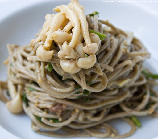 """Chilled Soba Noodles: Yes, please! """"Cool"""" Recipe..."""