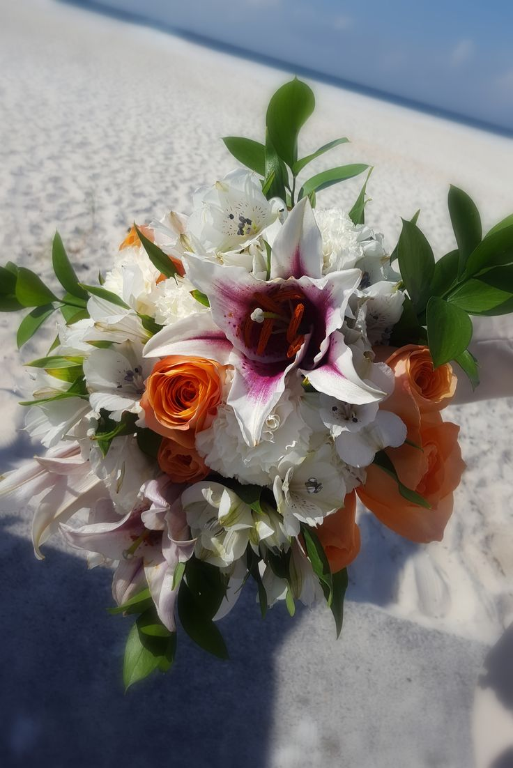 Silk Wedding FlowersIts A Flower Bouquet Made By Lynas Yes
