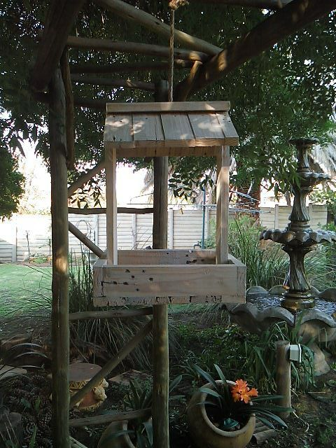 Parys Rustic Décor - Bird feeders