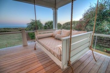 Customer Photos - tropical - porch - charleston - Vintage Porch Swings LLC