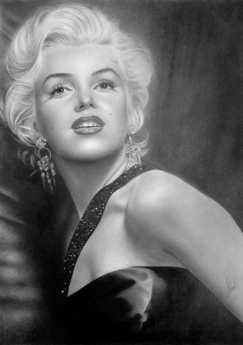 Art & Creativity - pencil drawing portrait
