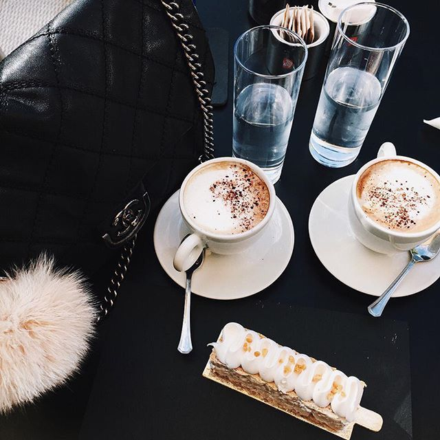 coffee date for two.