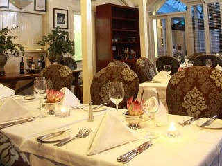 The Brasserie Restaurant at Quarters Hotel in Morningside KZN, Durban, South Africa