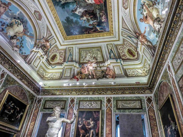 Villa Borghese Pinciana. A breathtaking art gallery and a masterpiece in itself. #rome #villaborghese #artgallery #galeriaborghese