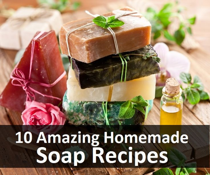 Soap Recipes.