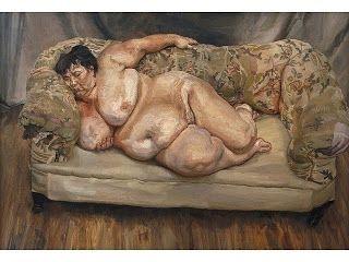 Lucian Freud Nude