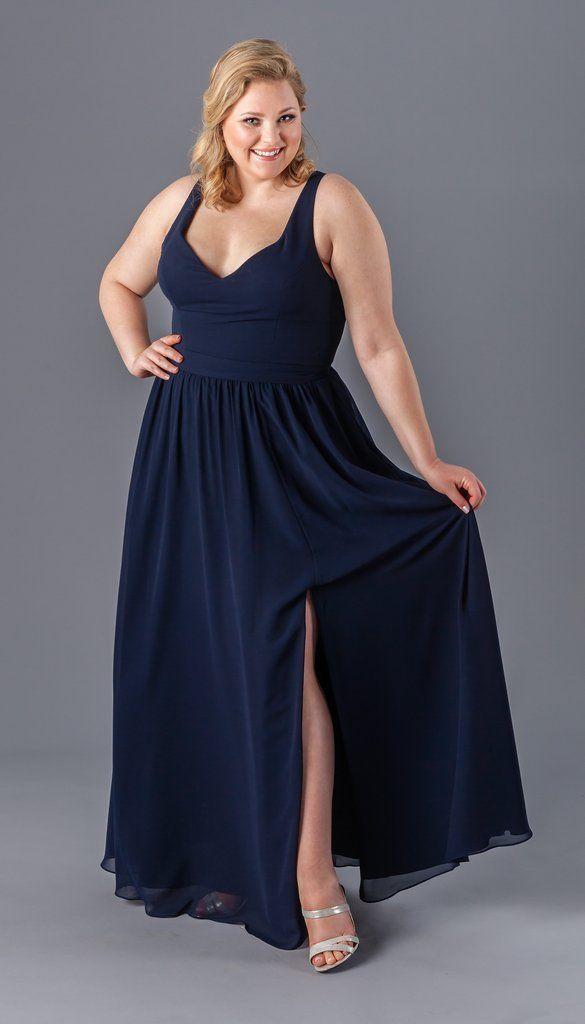 Riley Plus-Size Bridesmaid Dress | 6 Incredibly Flattering Plus Size Bridesmaid Dresses