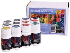 Ashford Wool Dye Collection