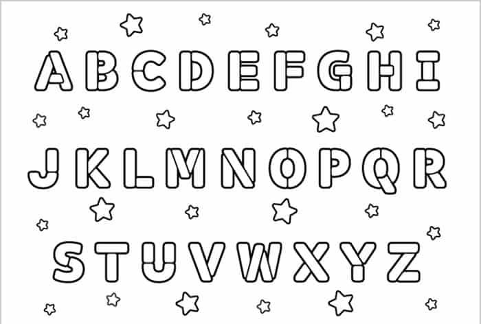 Printable Abc Coloring Pages For Kids Free Coloring Sheets Abc Coloring Pages Alphabet Coloring Pages Abc Coloring