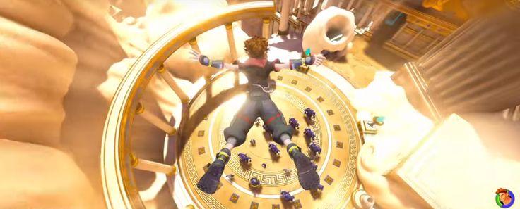 Kingdom Hearts III: Neuer Trailer enthüllt Hercules Welt und weiteres Gameplay! - Ein neuer Kingdom Hearts III Trailer mit jeder Menge Gameplay ist da! Angucken!  - https://finalfantasydojo.de/?p=15626 #KH3