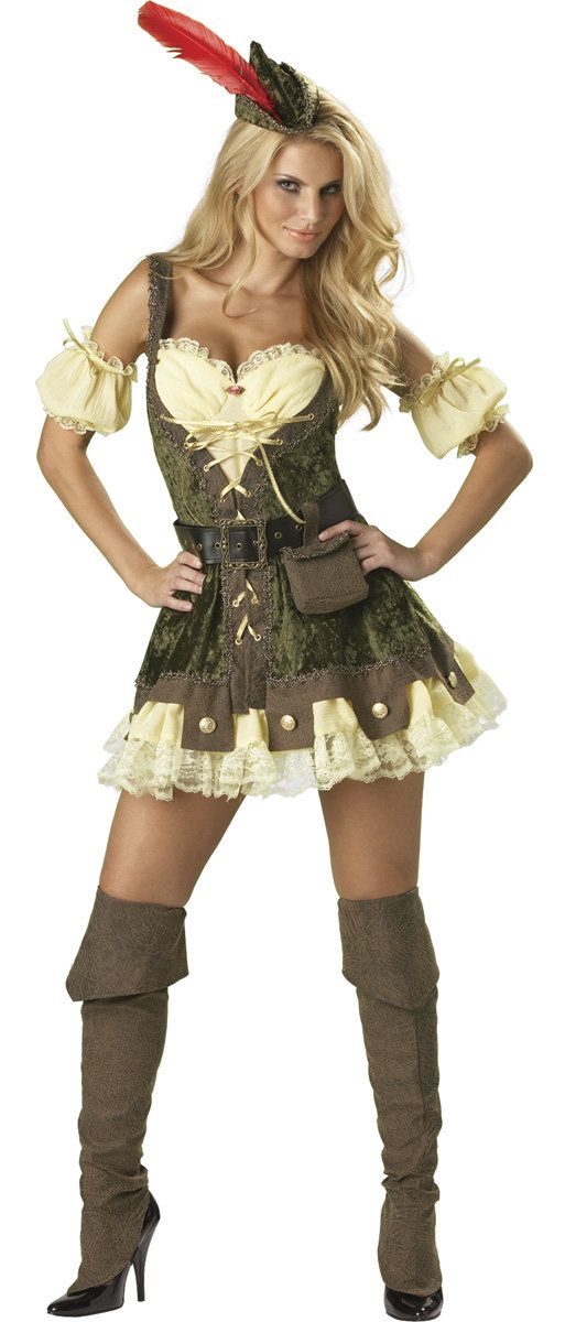 Racy Robin Hood Sexy Costume // oh god this is soooo gorgeous. $85 haha