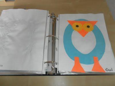 Alphabet craft book. Great idea!