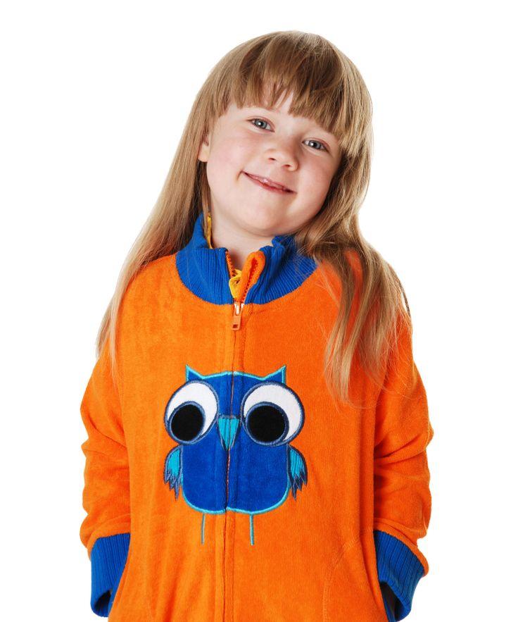 Duns of Sweden extremely cool orange owl jacket. duns-sweden.en.emilea.be