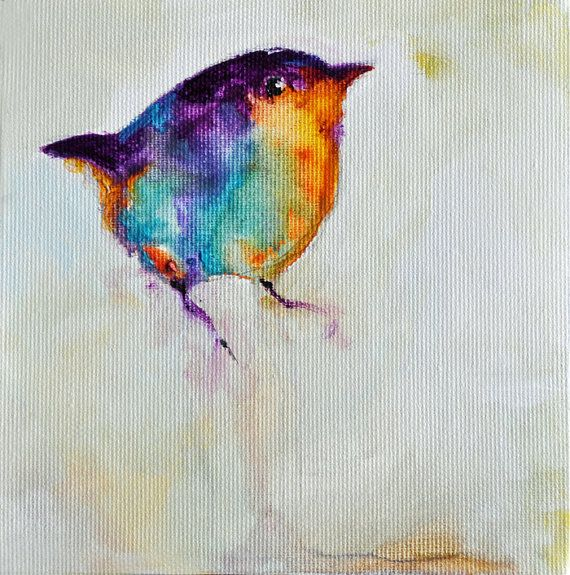 Bird paintings abstract - photo#22