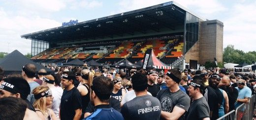 Very first spartan stadium race in UK and whole Europe. Held in Allianz Rugby Stadium in London