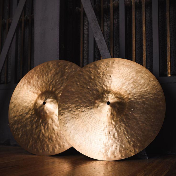 Istanbul Agop 16 Inch 30th Anniversary Hi-Hat Cymbals Pair